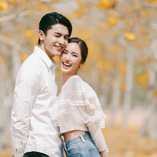 Cặp sao đáng yêu của Minh châu rực rỡ.
