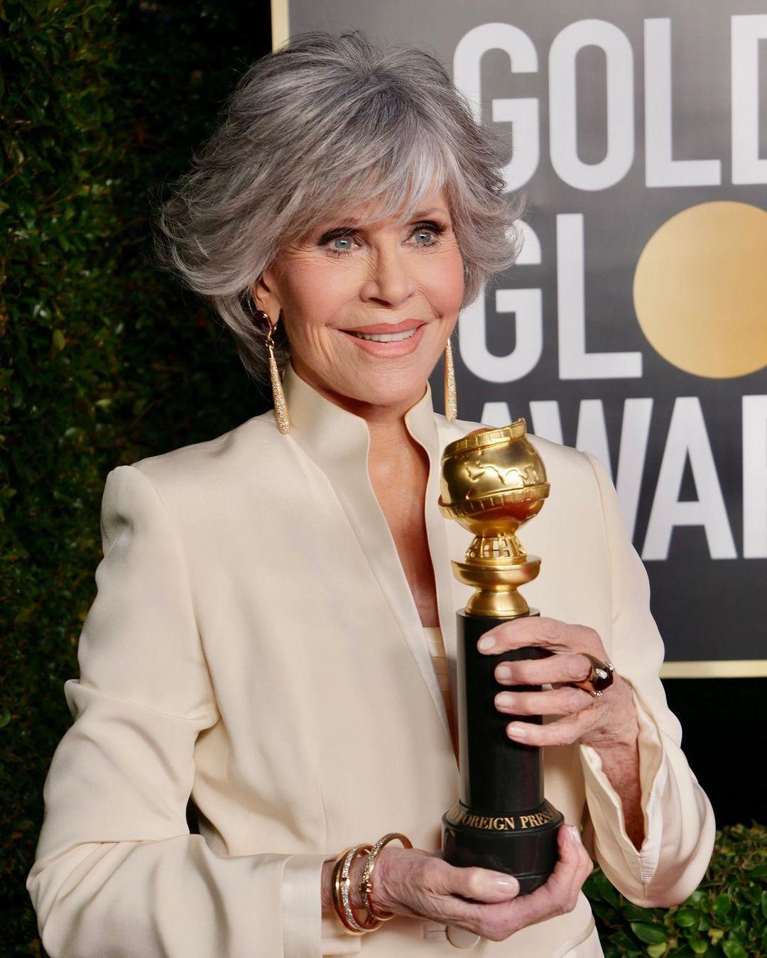 Jane Fonda đạt rất nhiều giải thưởng trong sự nghiệp diễn xuất.