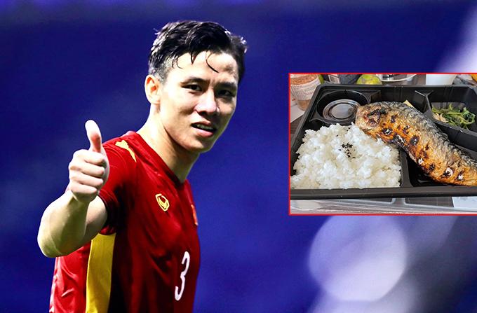 Quế Ngọc Hải gửi cho vợ hình ảnh suất cơm đơn sơ ở Thái Lan và than thèm đồ Việt.