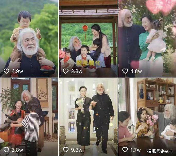 Những hình ảnh đời thường được ông Trương nhiệt tình chia sẻ.