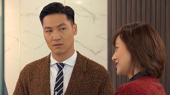 Tạo hình của Mạnh Trường trong phim Hương vị tình thân.