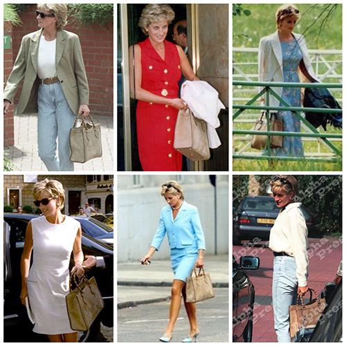 Diana và mẫu túi Gucci được cưng chiều