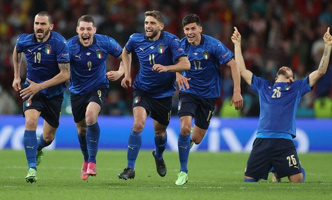 Niềm vui của Italy...