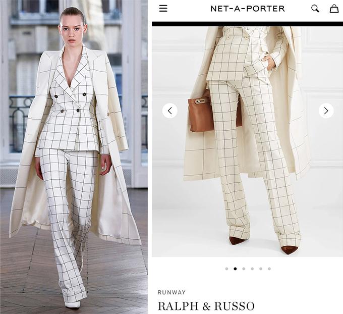 Thiết kế thuộc bộ sưu tập Ralph & Russo Thu đông 2018.