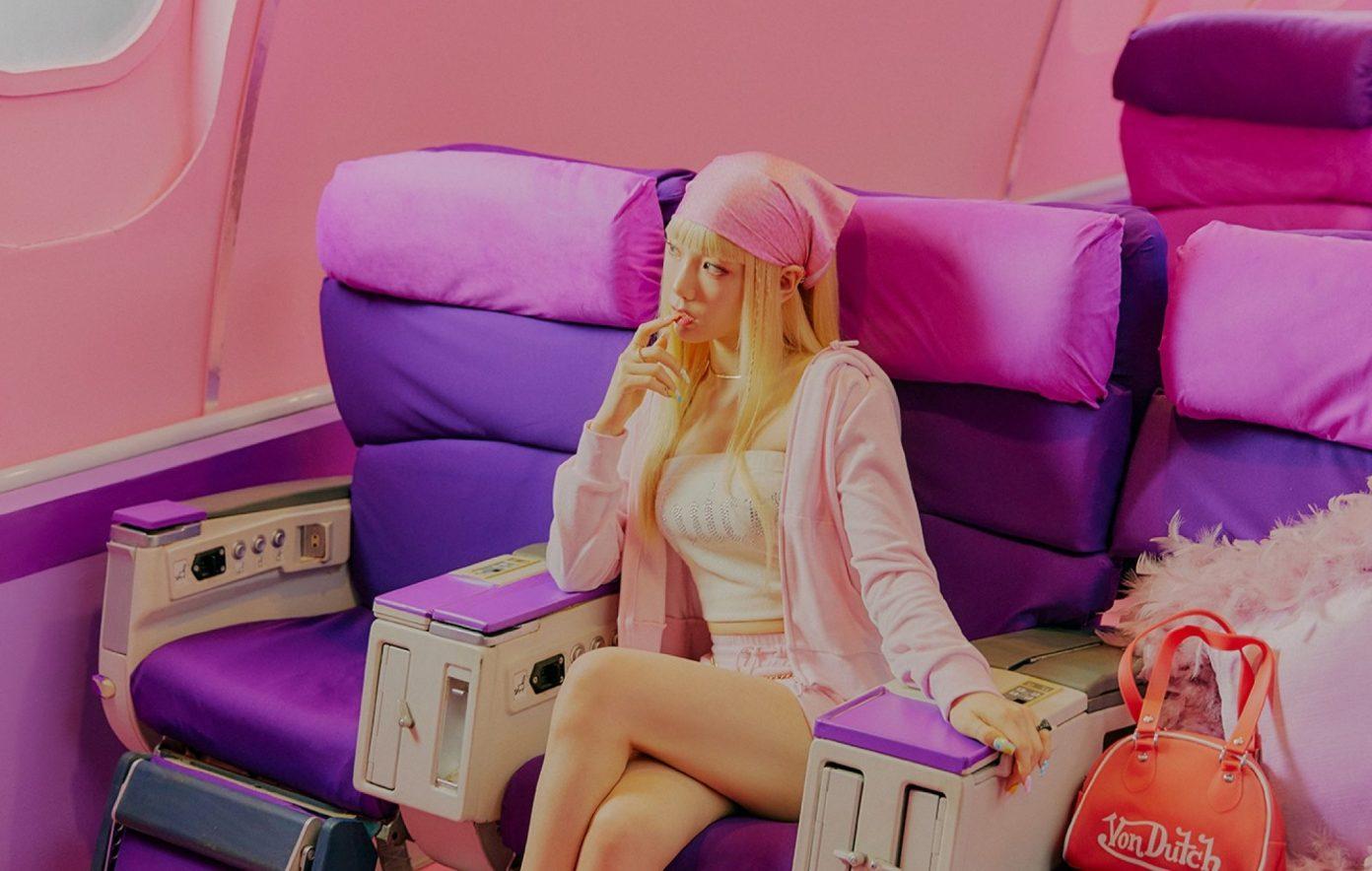 Hình ảnh của Taeyeon trong ca khúc mới Weekend.