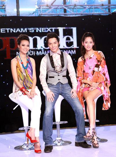 Nathan Lee từng làm host chương trình Vietnams Next Top Model mùa đầu tiên.