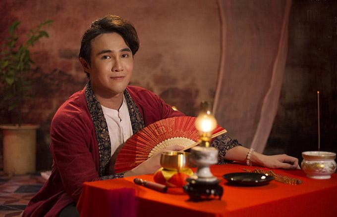 Huỳnh Lập quay mùa 3 Một nén nhang tại nhà anh ở An Giang.