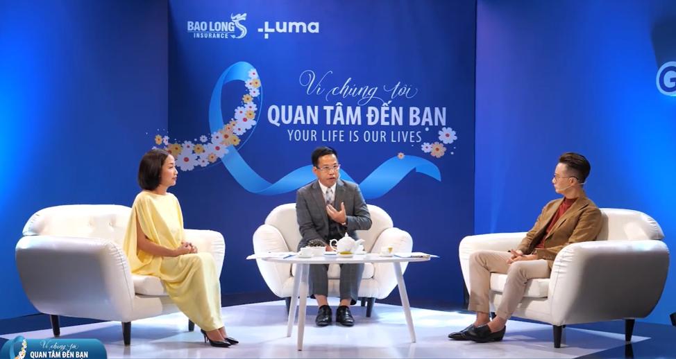 Bảo Long ra mắt sản phẩm Điều trị ung thư quốc tế Global Cancer Care, phát triển cùng đối tác Luma. Ảnh: Bảo Long