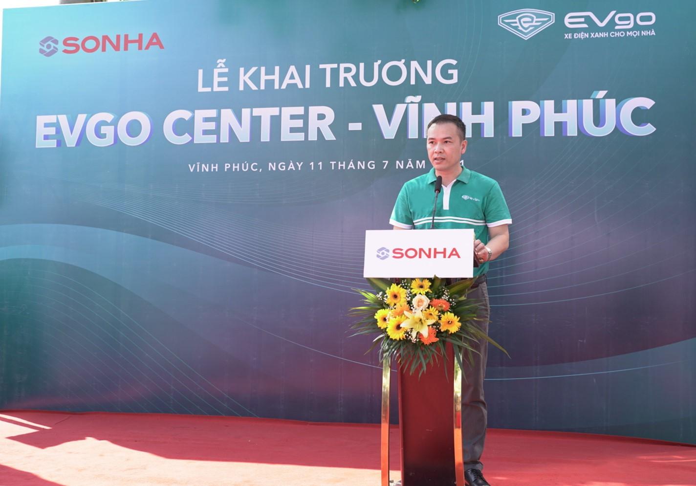 EVgo Center Vĩnh Phúc khai trương vào ngày 11/7.