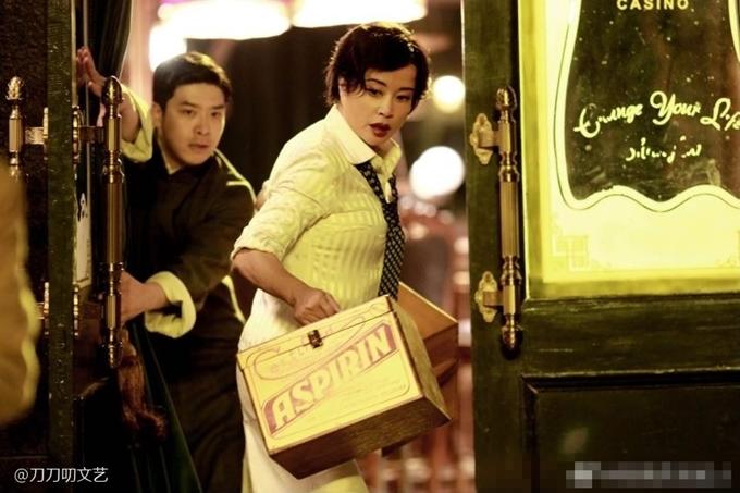 Năm ngoái, Lưu Hiểu Khánh mang tạo hình trẻ trung trong phim 800.