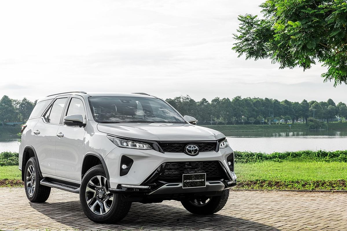 Toyota Fortuner tại Hà Nội. Ảnh: TMV