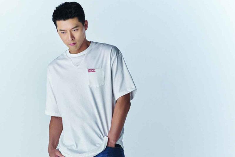 Hyun Bin khoe vẻ đàn ông  - 1