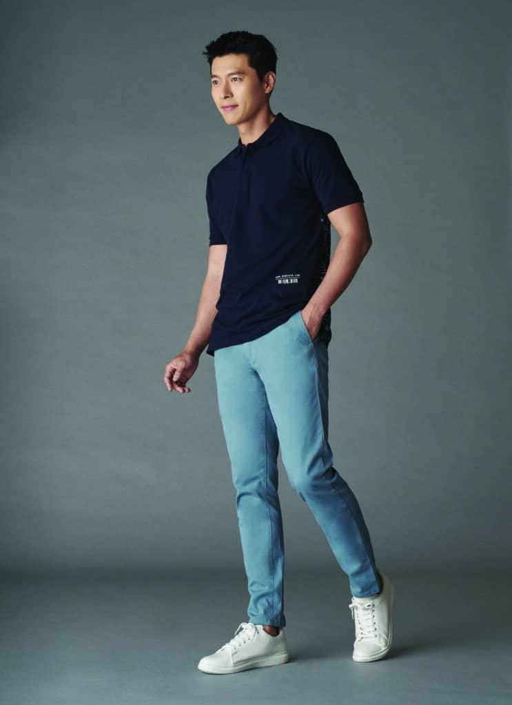 Hyun Bin khoe vẻ đàn ông  - 4