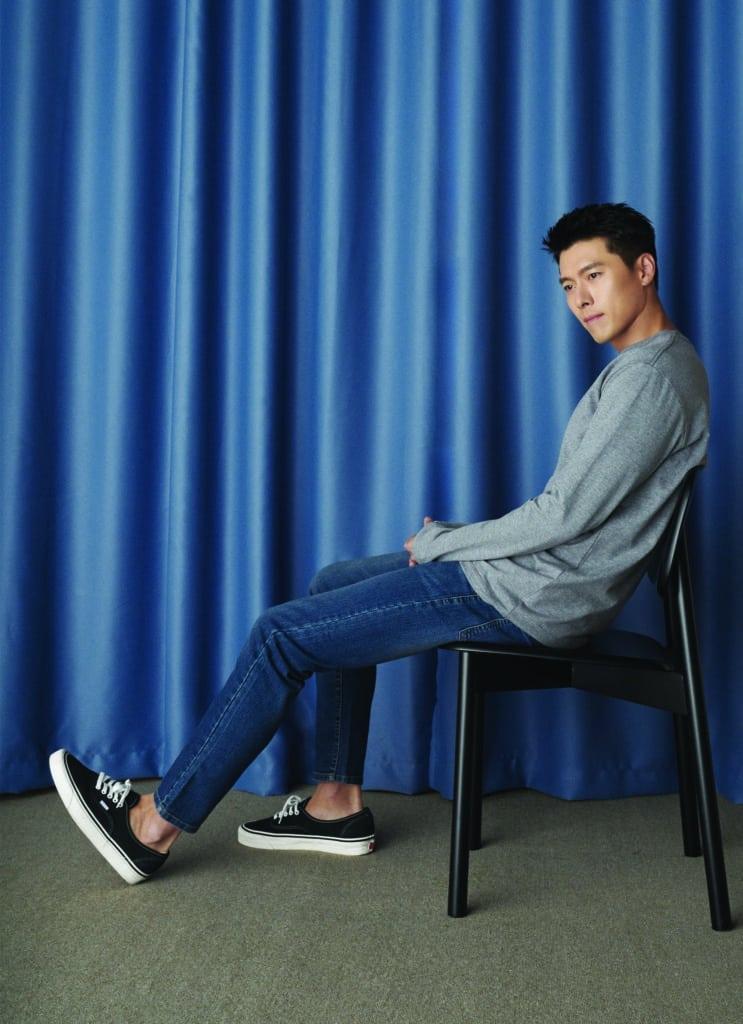 Hyun Bin khoe vẻ đàn ông  - 6