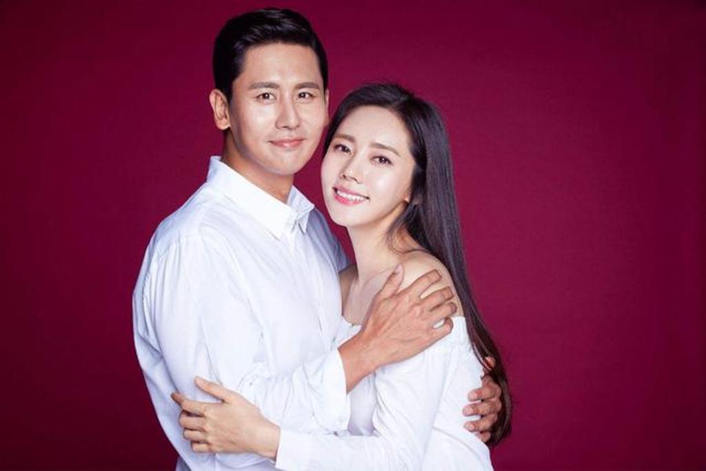 Choo Ja Hyun và chồng.