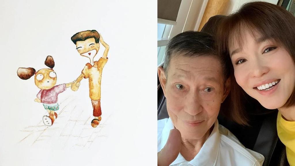 Chia sẻ bằng hình ảnh của Phạm Văn Phương về bố khiến khán giả xúc động.