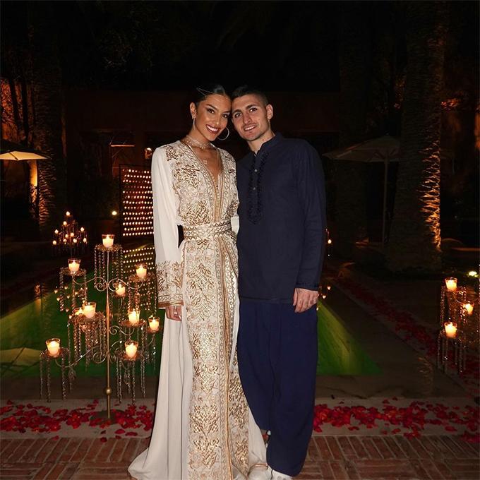 Veratti và Jessica Aidi hẹn hò từ năm 2019. Ảnh: Instagram.