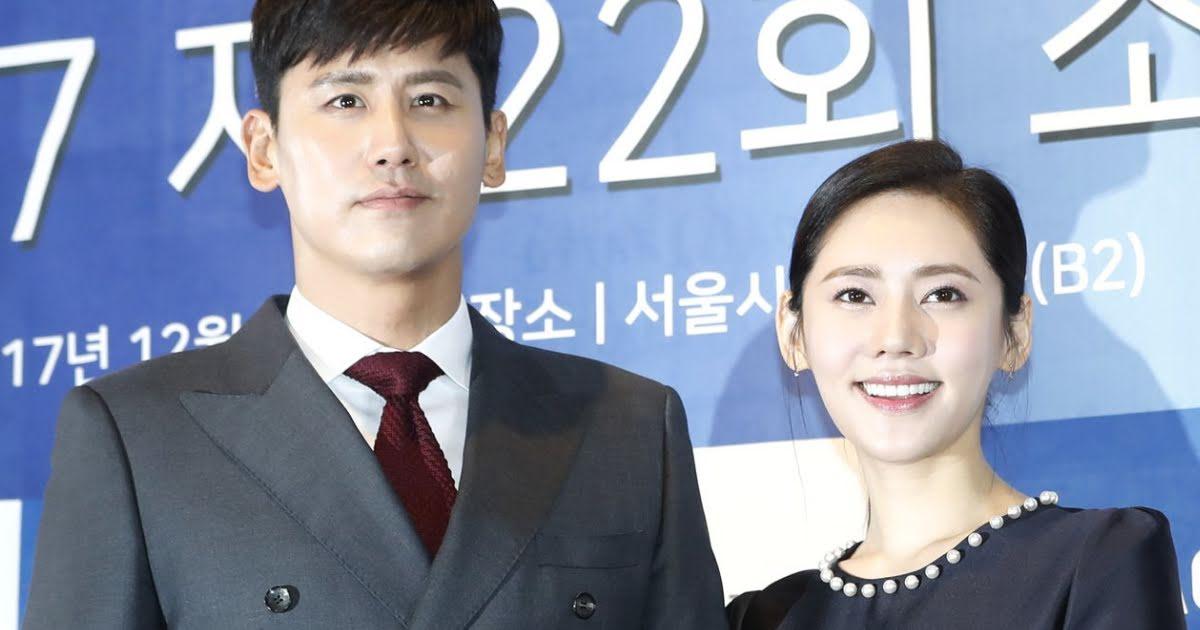 Vu Hiểu Quang và vợ, diễn viên Choo Ja Hyun.