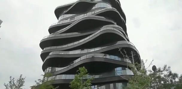 Khu tổ hợp cao cấp tại Bắc Kinh gây chú ý.