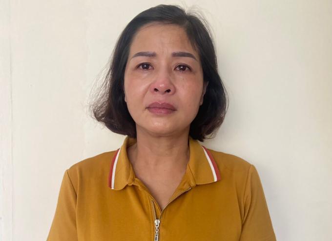 Nghi can Phạm Thị Hằng.