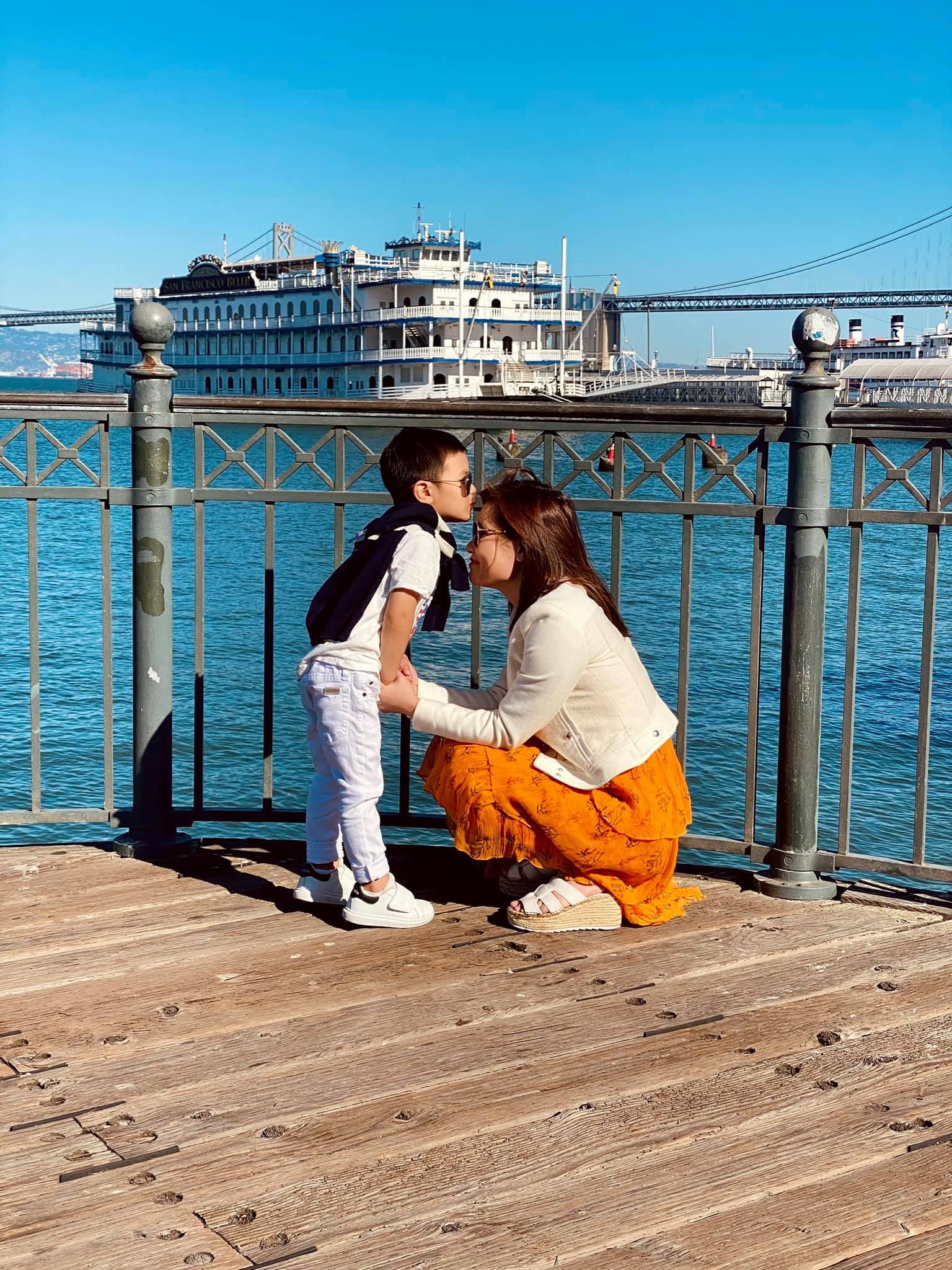Vợ Đan Trường chăm đưa con đi khắp nước Mỹ du lịch - 3