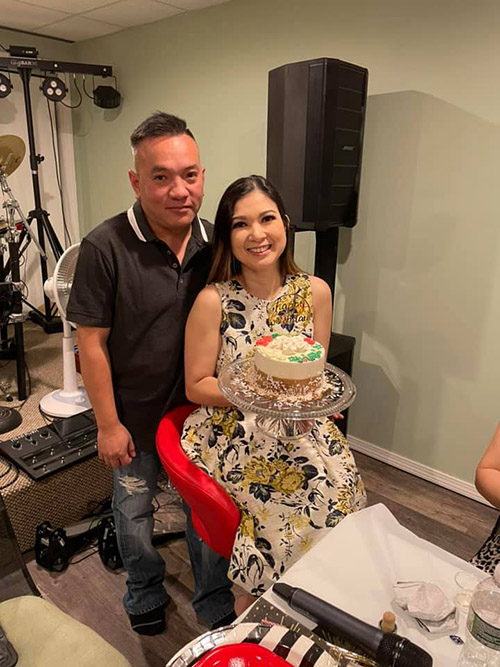 Vợ chồng Phạm Thanh Thảo gắn bó sau sáu năm chung sống.