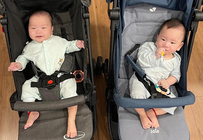 Cặp song sinh giống bố y đúc nhà Khắc Việt - 9