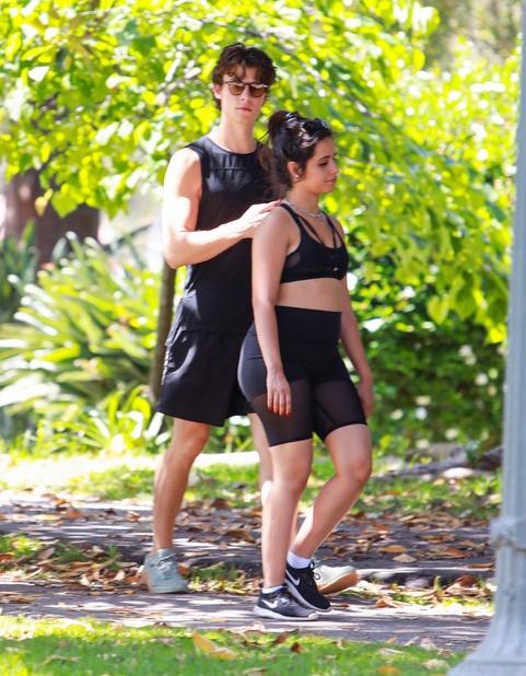 Camila Cabello gần đây tích cực tập thể dục khi cơ thể ngày càng tròn trịa hơn. Cô được  Shawn Mendes hỗ trợ hết mình bằng cách cùng đi bộ hàng ngày.