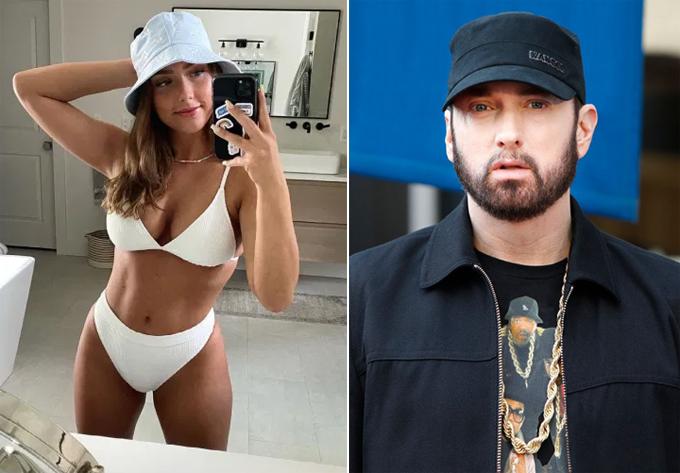 Con gái nhỏ ngày nào của Eminem giờ đã trở thành một mỹ nhân xinh đẹp, quyến rũ.