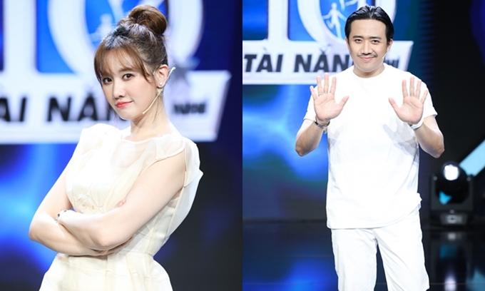 Hari Won và Trấn Thành làm giám khảo chính chương trình Siêu tài năng nhí mùa 2.