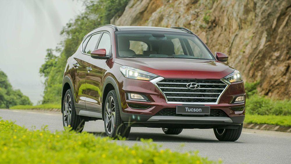 Hyundai Tucson tại Ninh Bình.