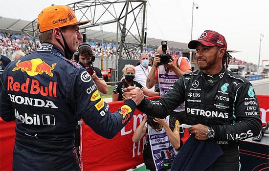 Verstappen và Hamilton đang so kè quyết liệt ở bảng xếp hạng cá nhân. Tay đua của Red Bull đang dẫn đầu với 185 điểm nhưng chiến thắng của Hamilton trên đường đua Silverstone đã giúp anh có 177 điểm, chỉ kém đối thủ 8 điểm.