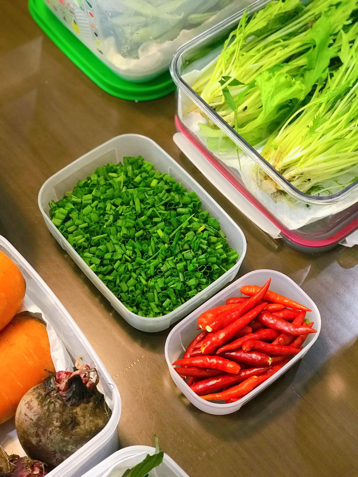 Gái đảm Sài Gòn bảo quản 11 loại thực phẩm tươi cả tuần mùa dịch - 3