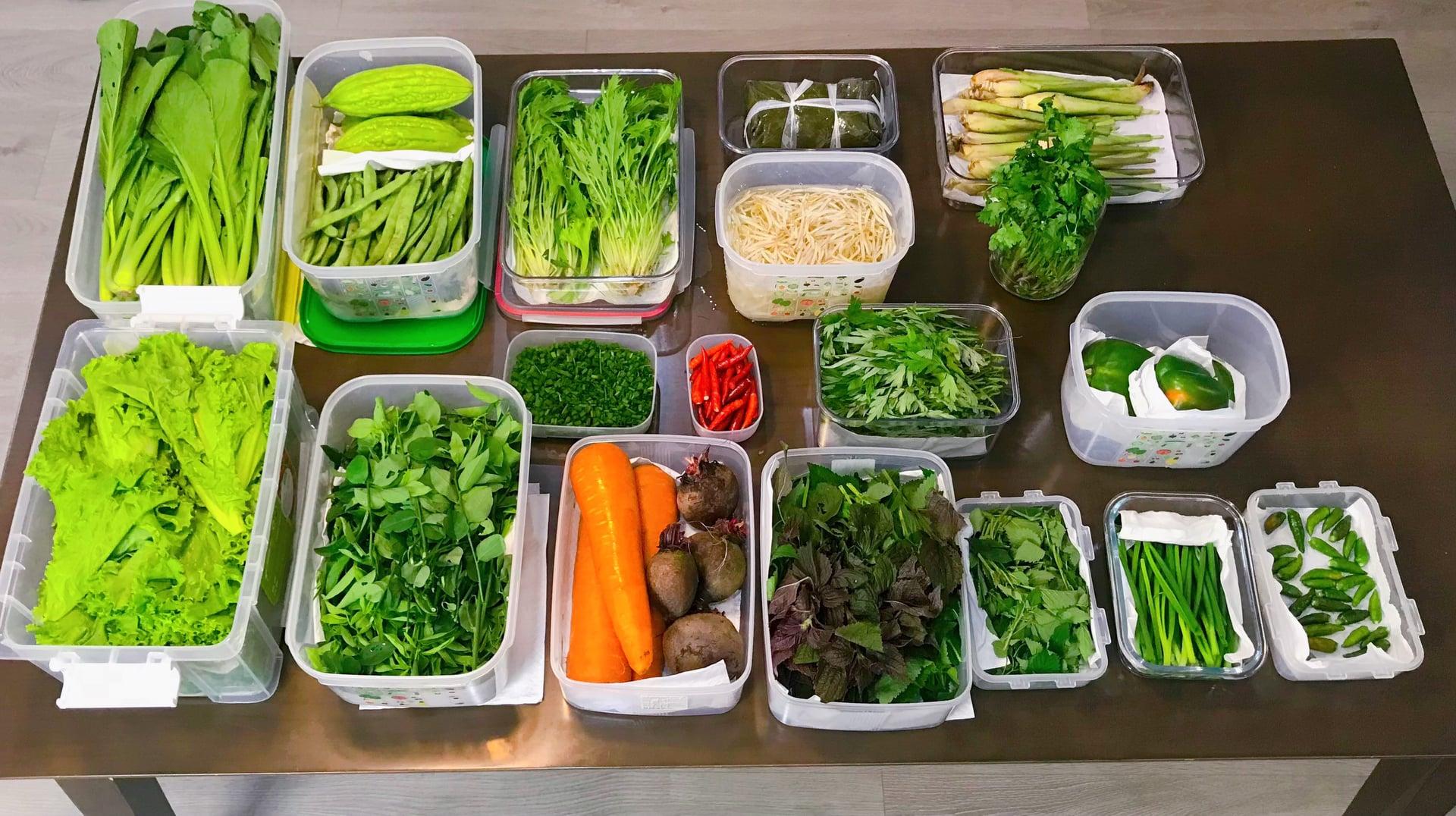Gái đảm Sài Gòn bảo quản 11 loại thực phẩm tươi cả tuần mùa dịch - 6