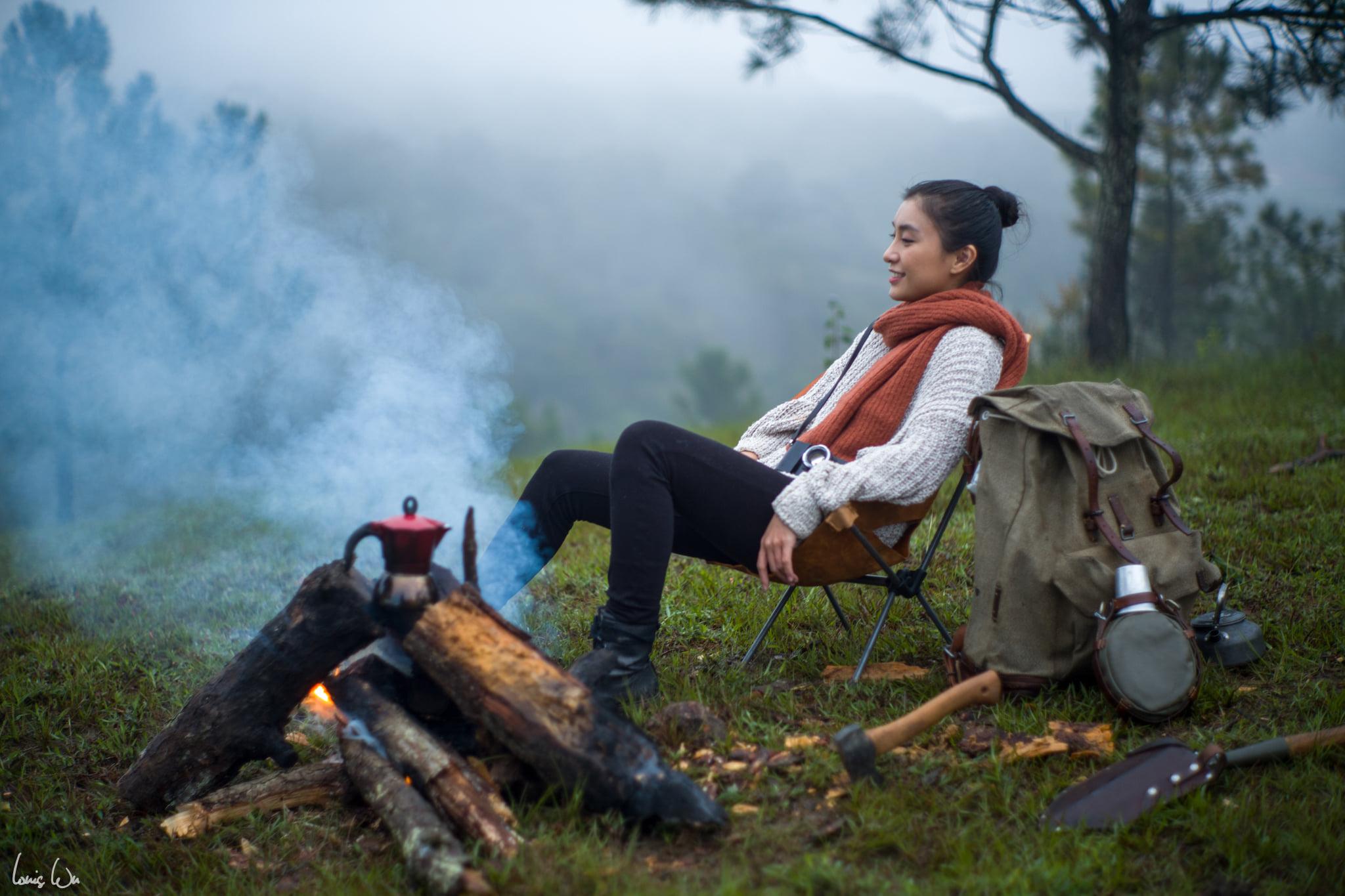 Vũ Mạnh Tuấn yêu thích ngắm nhìn và ghi lại khung cảnh bình yên với bạn gái trong một chuyến đi Đà Lạt cùng nhau.