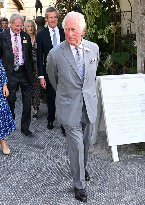Thái tử Charles dự sự kiện vào ngày 19/7. Ảnh: Rex.