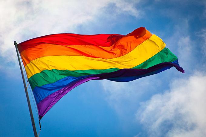 Sau hai lần thay đổi, lá cờ tượng trưng cho cộng đồng LGBT còn lại sáu màu.