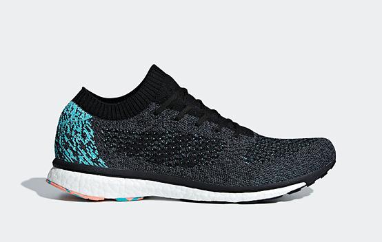 Giày thể thao chính hãng Adidas Adizero Primeknit boost BB6564 giảm 40% còn 2,89 triệu đồng (áp dụng giảm thêm voucher 500.000 đồng, còn 2,39 triệu đồng); có phần đế giữa (midsole) chứa khoảng 3.000 hạt năng lượng boost; phần thân trên (upper) sử dụng vật liệu PrimeKnit. Đế giày sử dụng cao su continental, giúp giày luôn bám đường và chống mài mòn.