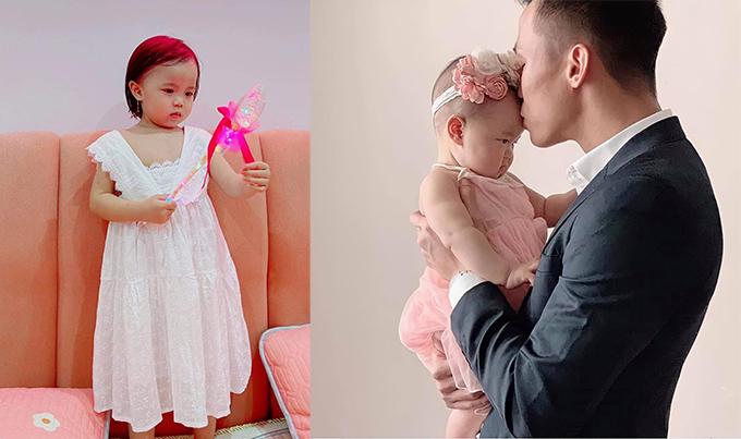 Quế Ngọc Hải đăng ảnh mừng sinh nhật con gái Sunny.