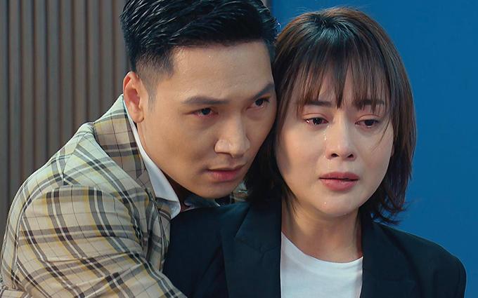 Mạnh Trường - Phương Oanh trong tập 67 Hương vị tình thân.