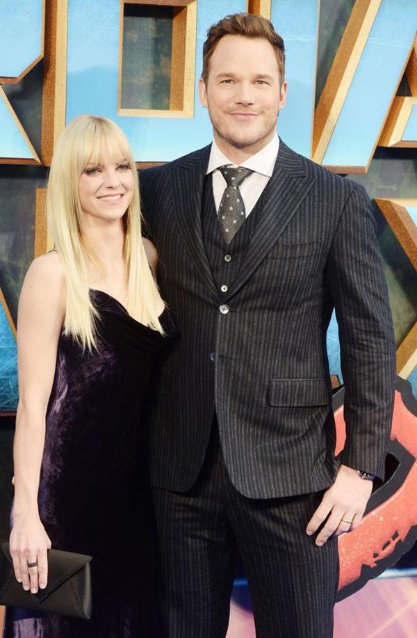 Anna và chồng cũ, Chris Pratt.
