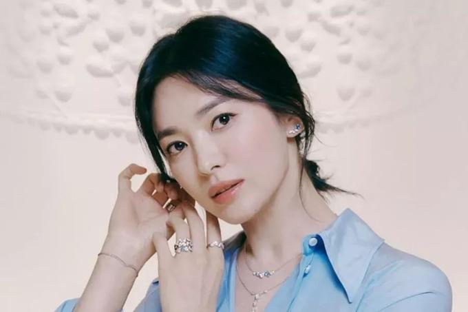 Ngôi sao Hàn Quốc Song Hye Kyo.