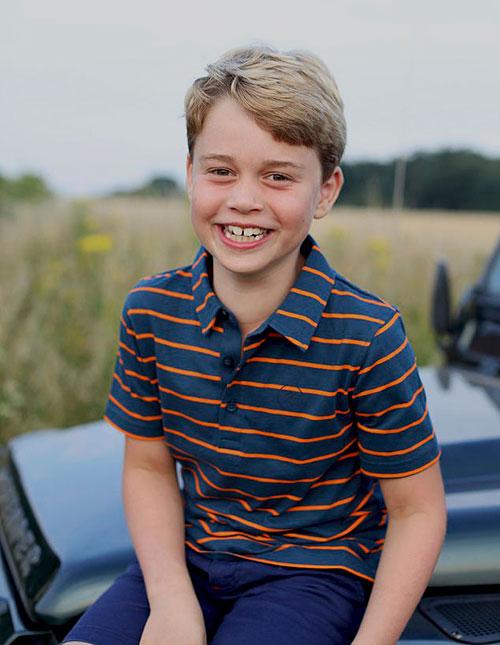 Hoàng tử George tròn 8 tuổi hôm 22/7. Ảnh: Instagram.