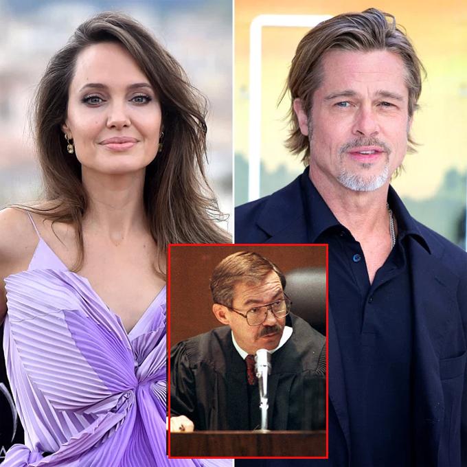 Thẩm phán John W. Ouderkirk bị truất quyền xử lý vụ ly hôn của Jolie-Pitt theo đề nghị của Jolie.