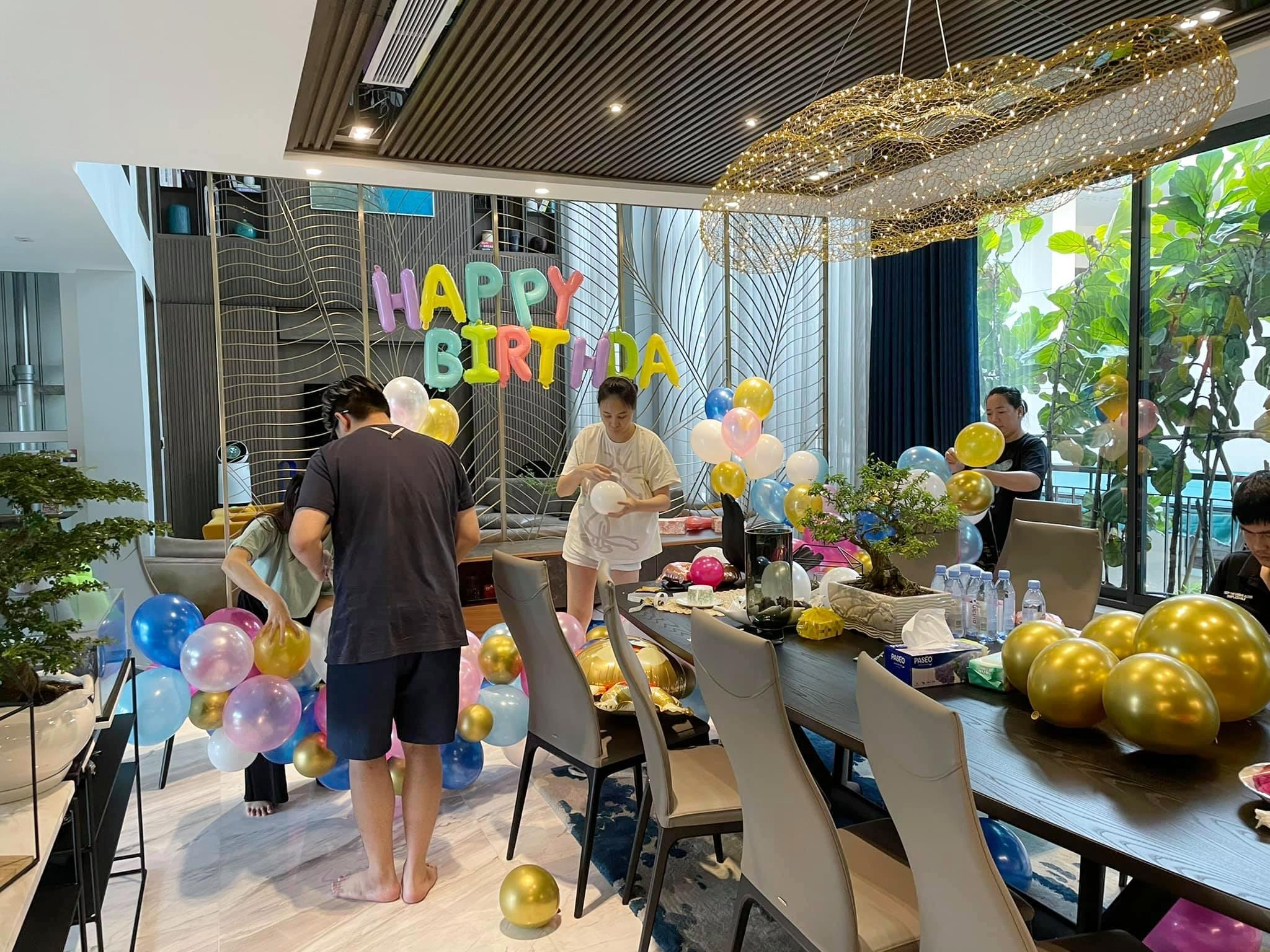 Vợ chồng Cường Đôla trang trí biệt thự mừng sinh nhật con gái - 2