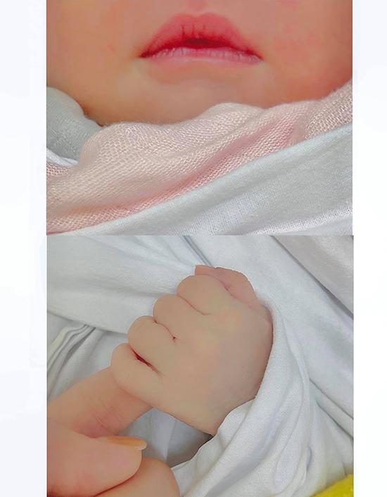 Con gái mới chào đời của diễn viên Phanh Lee.