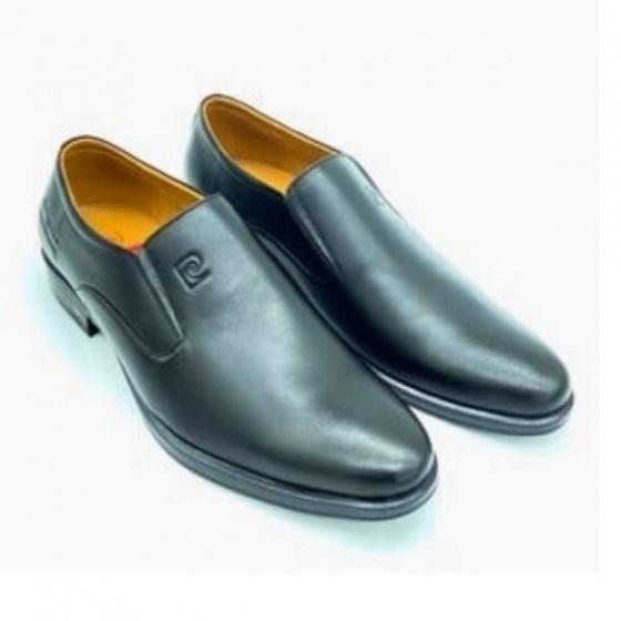 Giày Pierre Cardin PCMFWLE712BLK; chất liệu da bò; bảo hành 12 tháng với hàng nguyên giá.