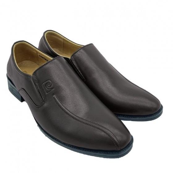 Giày Pierre Cardin PCMFWLE722BRW; chất liệu da bò; đế cao su nhiệt dẻo TPR; bảo hành 12 tháng đối với hàng nguyên giá.
