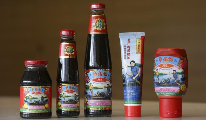 Các sản phẩm nổi tiếng của Tập đoàn Lee Kum Kee. Ảnh: SCMP.