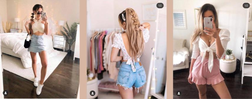 phù hợp các trang phục không dây, khoét vai, hở lưng
